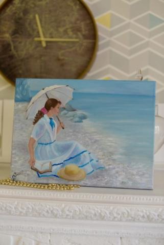 gelena Картина маслом На берегу моря