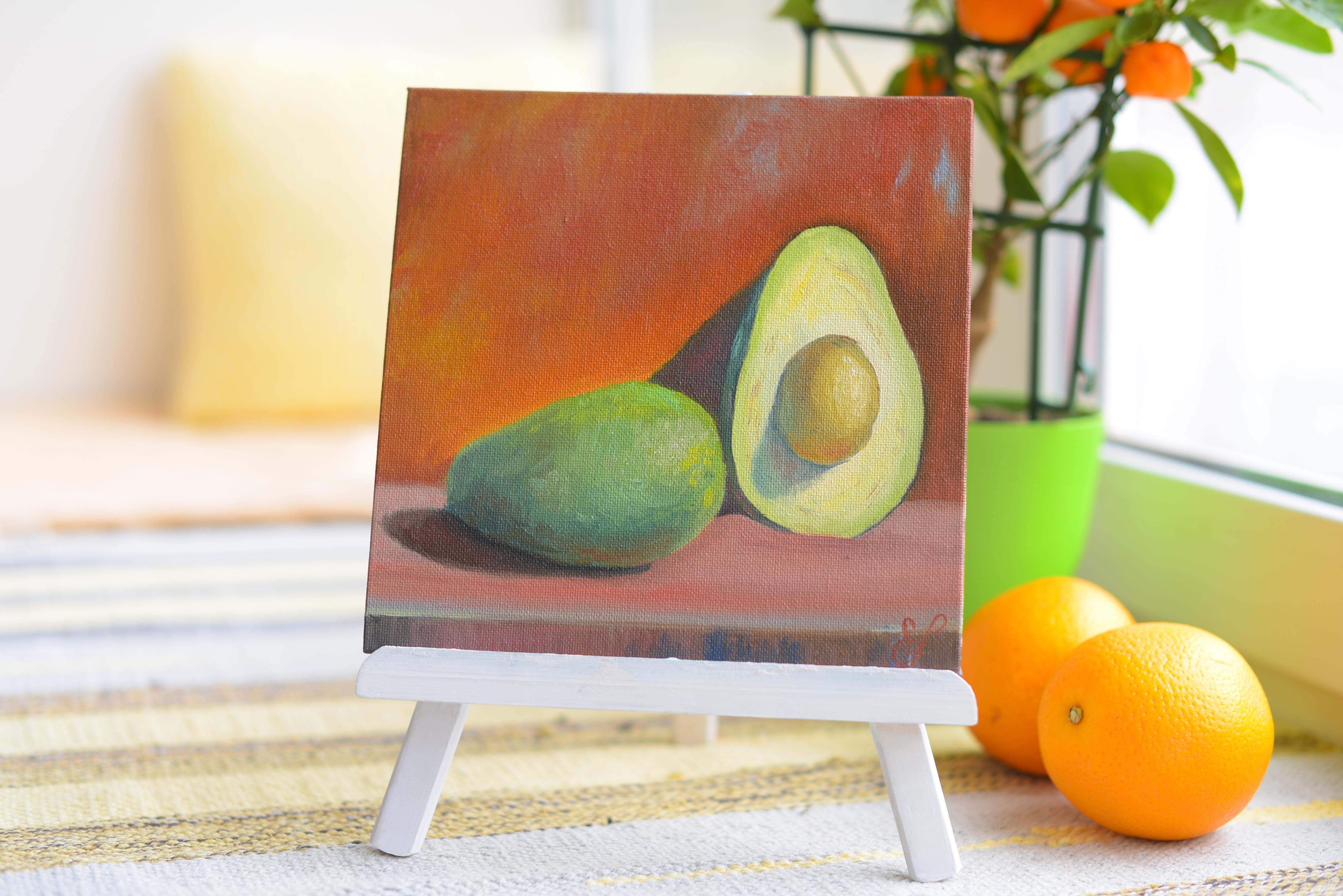 Картина маслом Авокадо